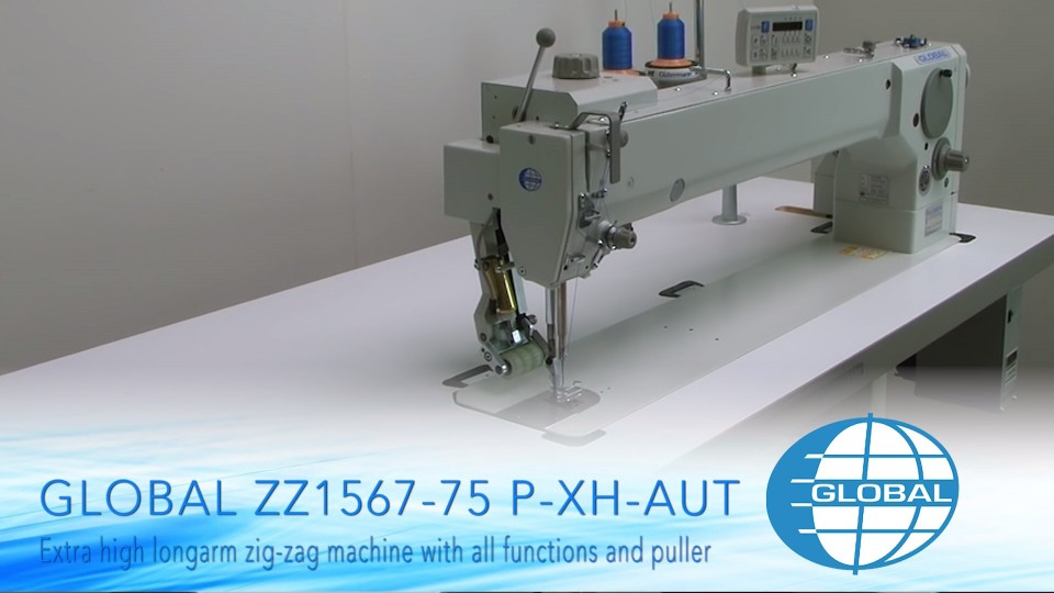 Dürkopp Adler / Global zz 1567 extra high arm automaat